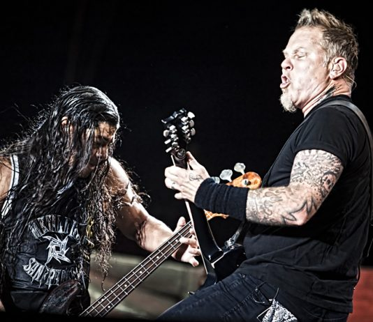 Metallica record Budgie track