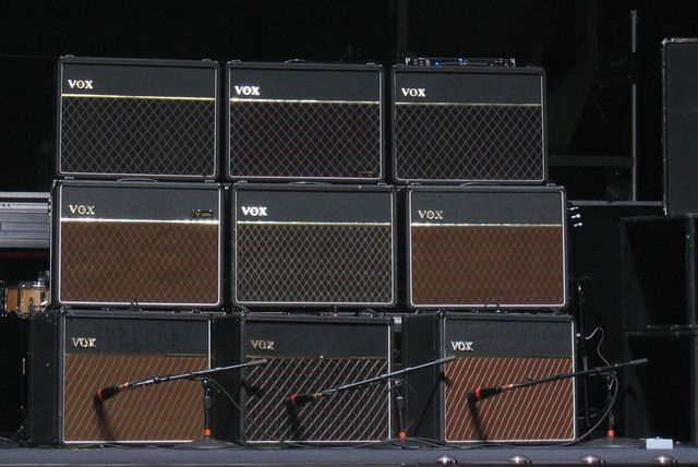 Brian May Vox AC50's